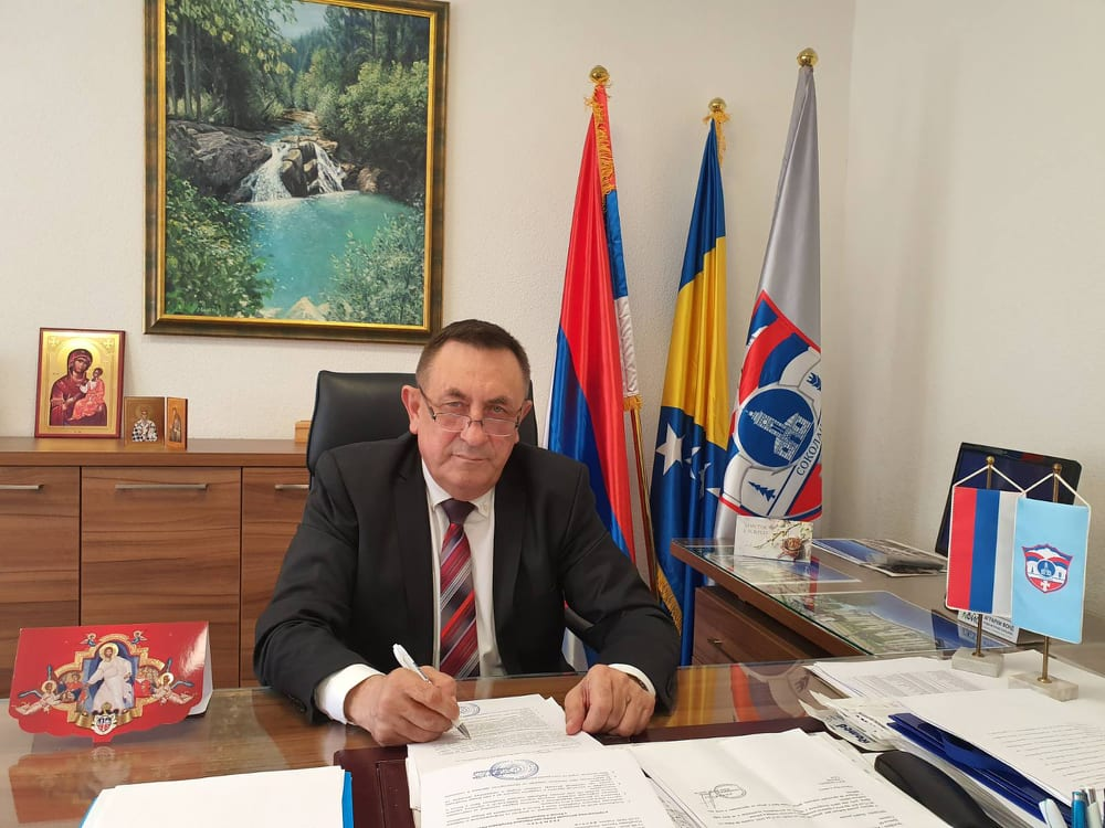 Milovan Cicko Bjelica, načelnik opštine Sokolac